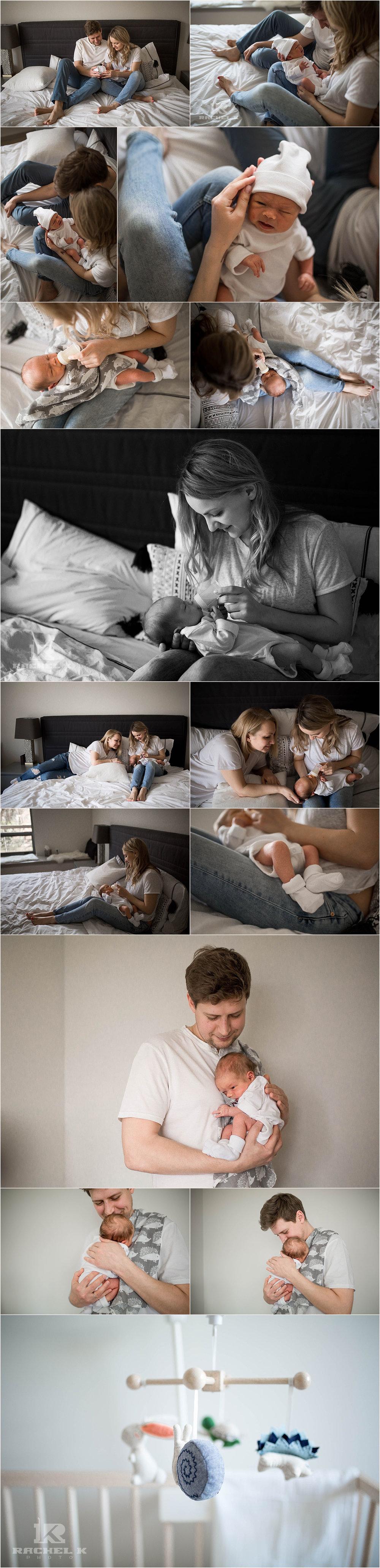 Northern Virginia baby boy newborn session by Rachel K Photo