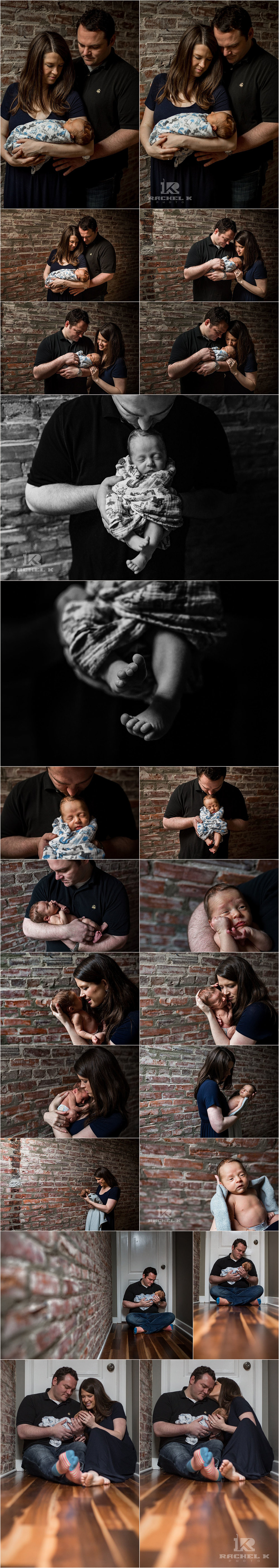 Northern Virginia newborn session by Rachel K Photo