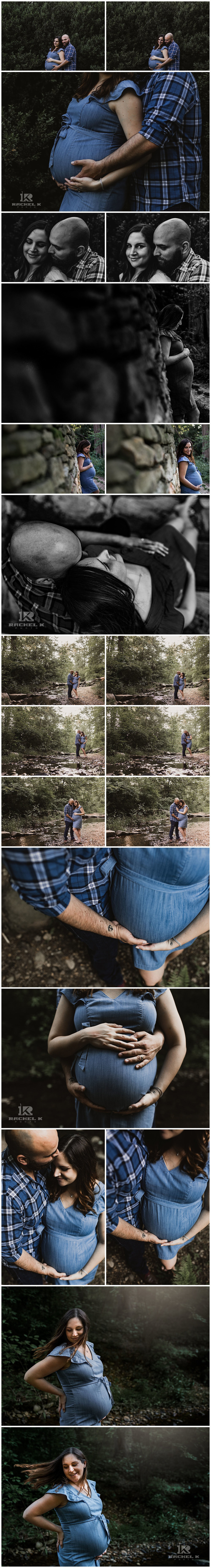 Alexandria Virginia maternity session by Rachel K Photo