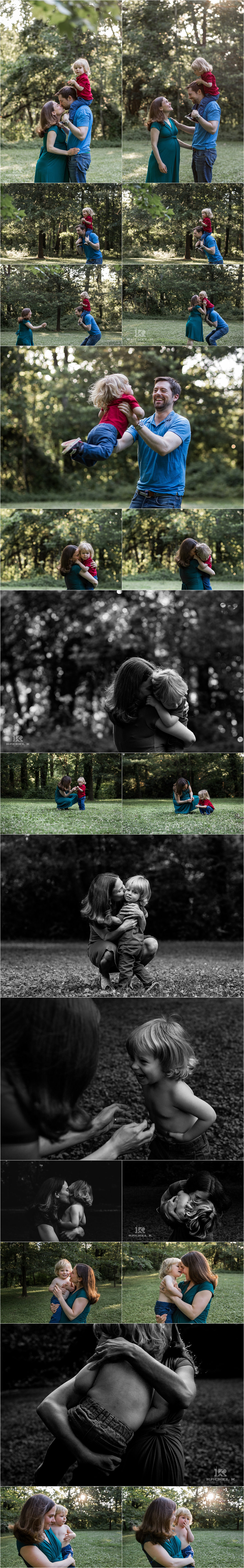 Lifestyle maternity session with toddler in Northern Virginia