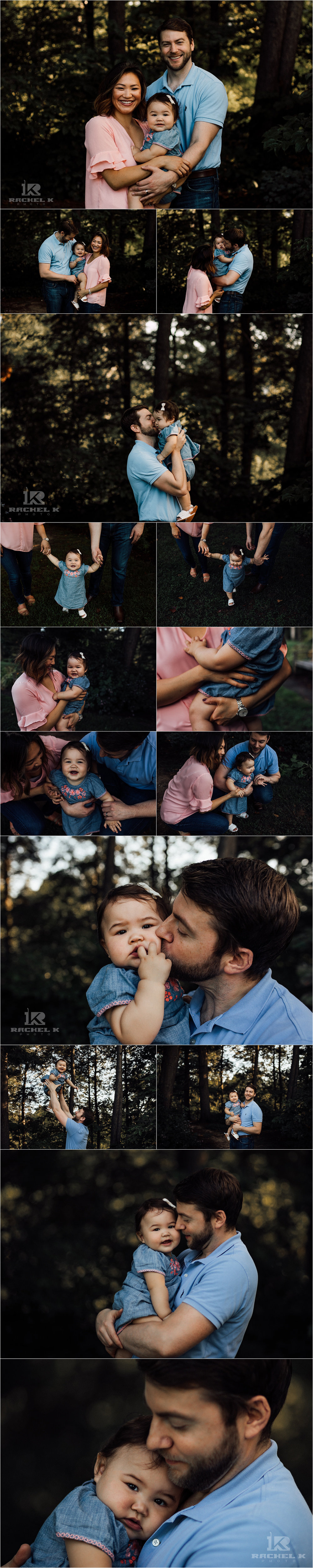 Northern Virginia family session at Green Springs Gardens in Alexandria Virginia by Rachel K Photo