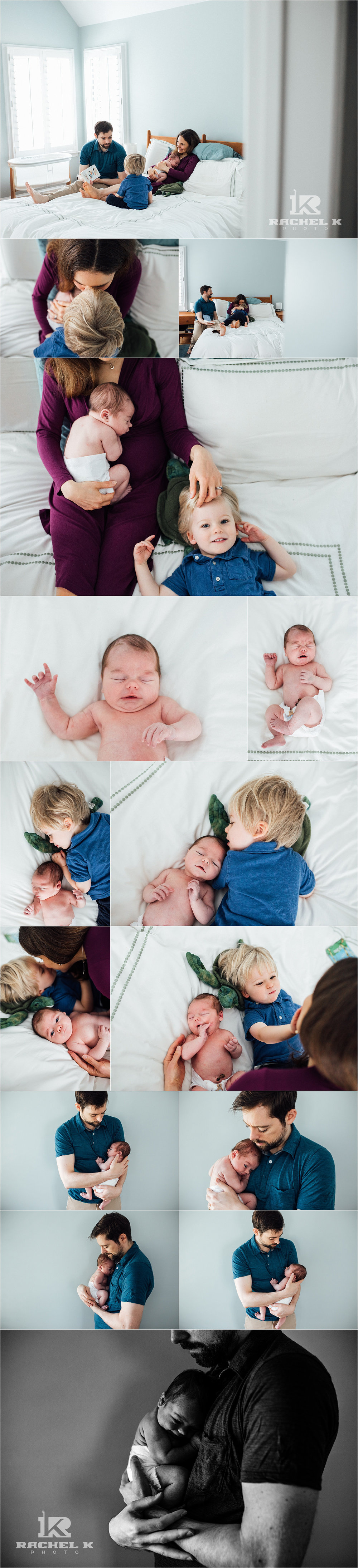 Fairfax Virginia newborn session by Rachel K Photo