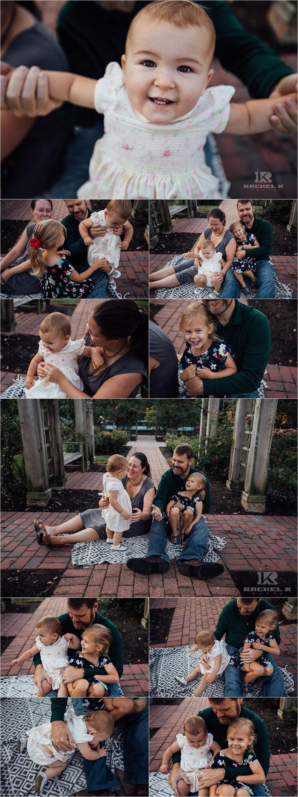 Family park session by Fairfax VA photographer Rachel K Photo