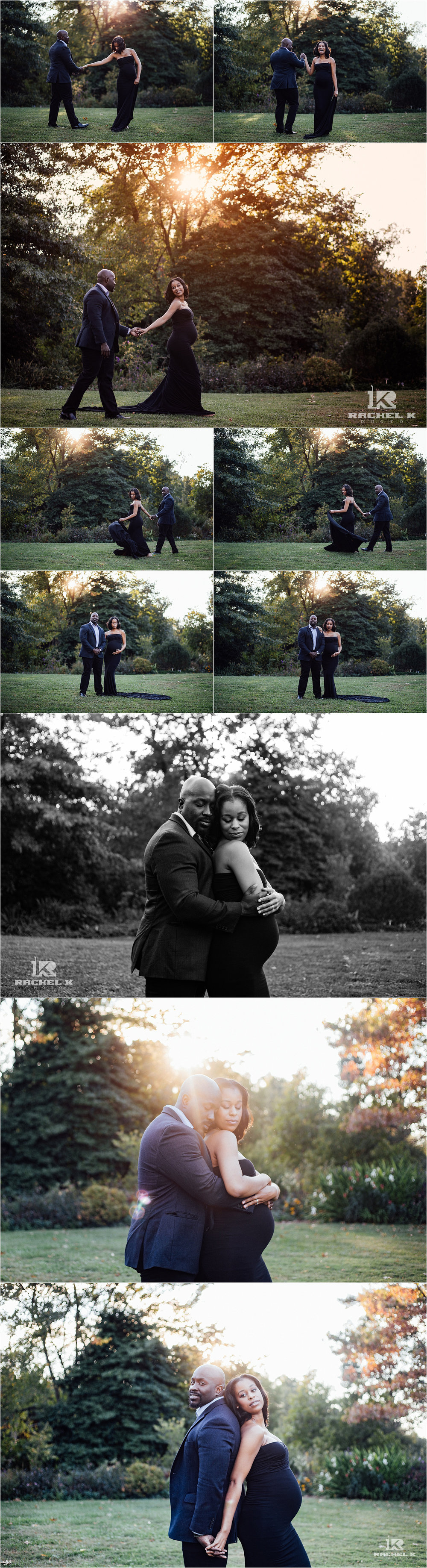 Chantilly maternity session by Rachel K Photo