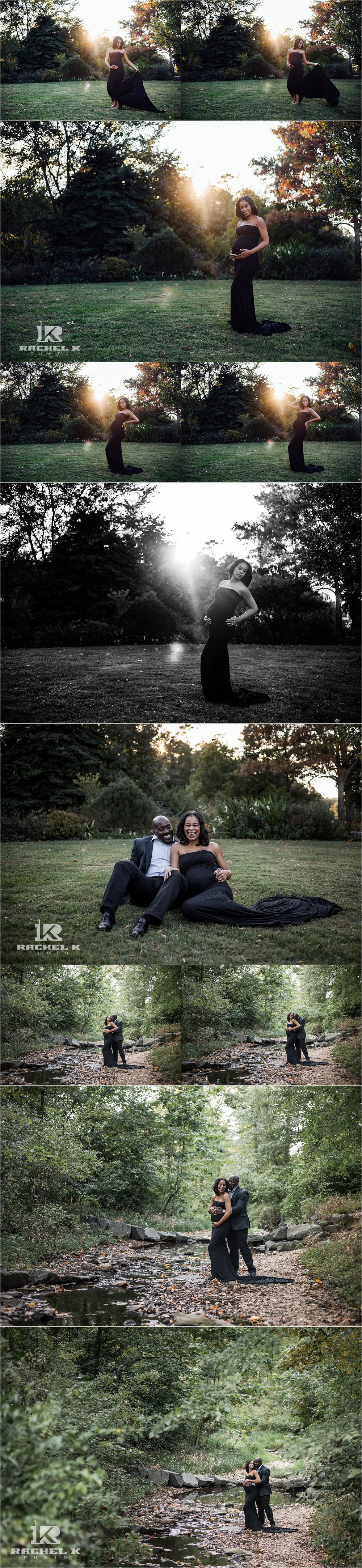 Chantilly Virginia maternity session by Rachel K Photo