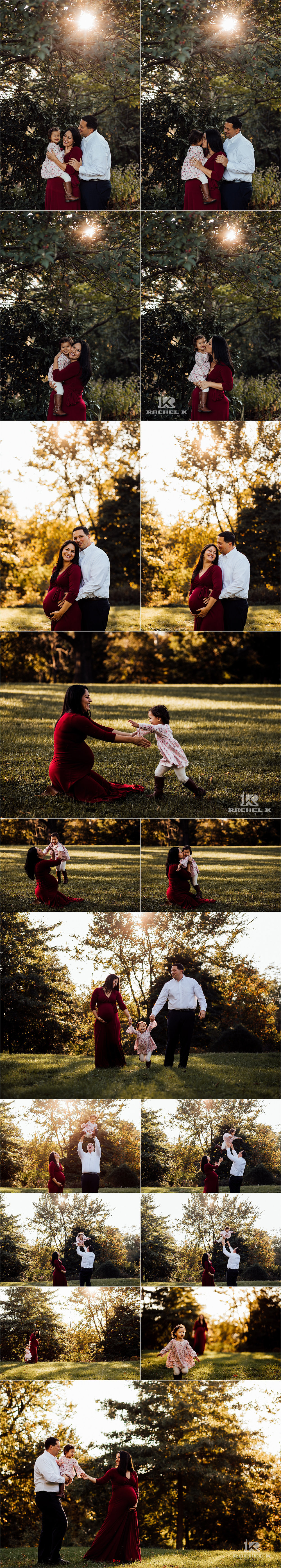 Centreville Virginia on location family photographer