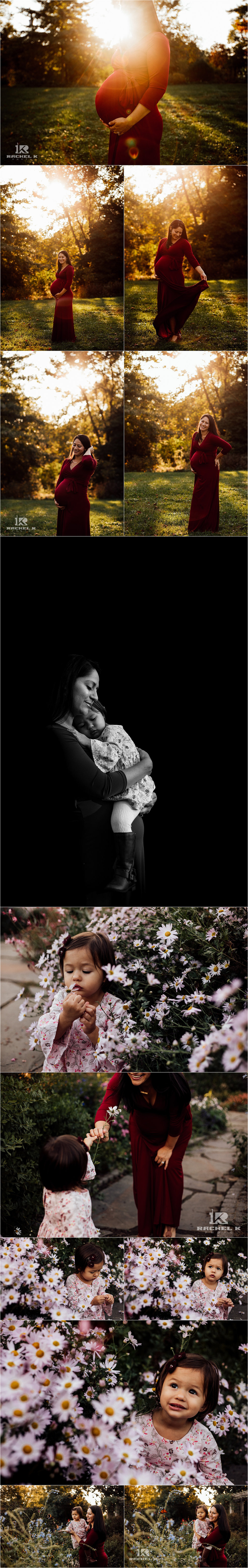 Fairfax Virginia maternity session by Rachel K Photo