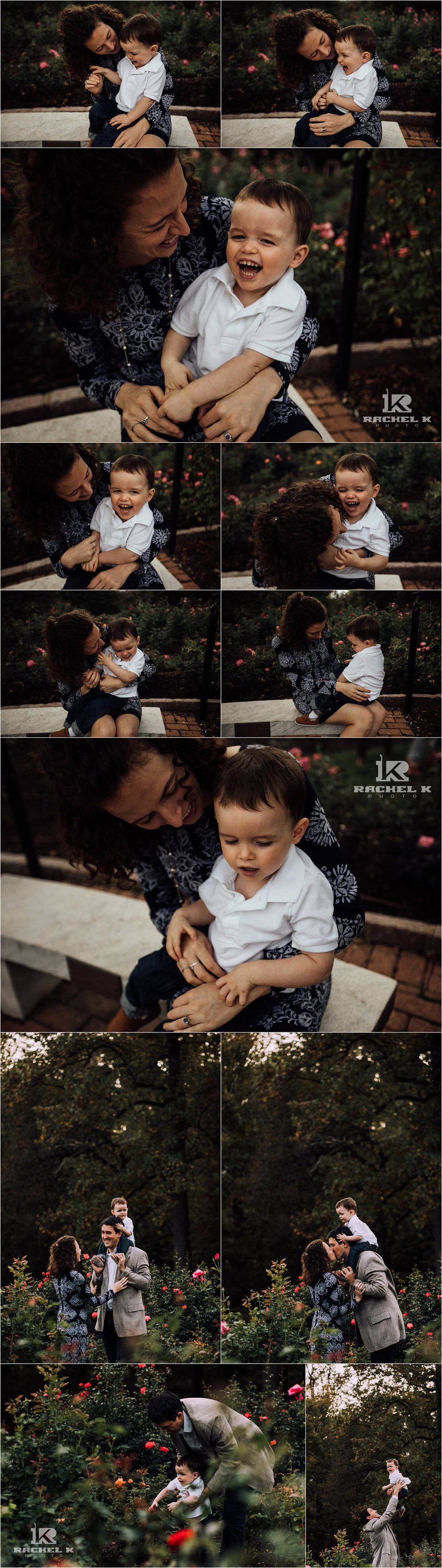 Fairfax Virginia family session with little boy by Rachel K Photo