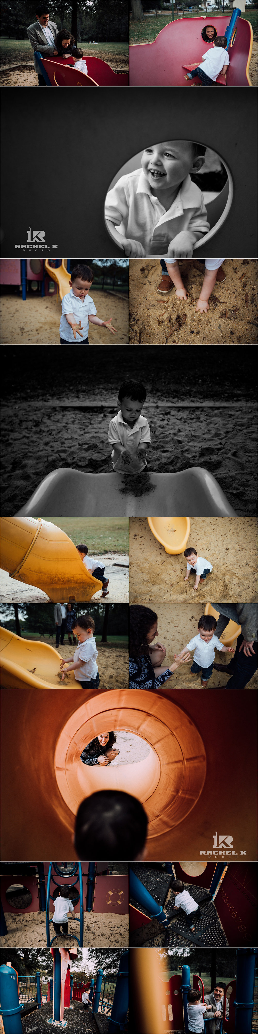 Family of three Fairfax Virginia family session by Rachel K Photo