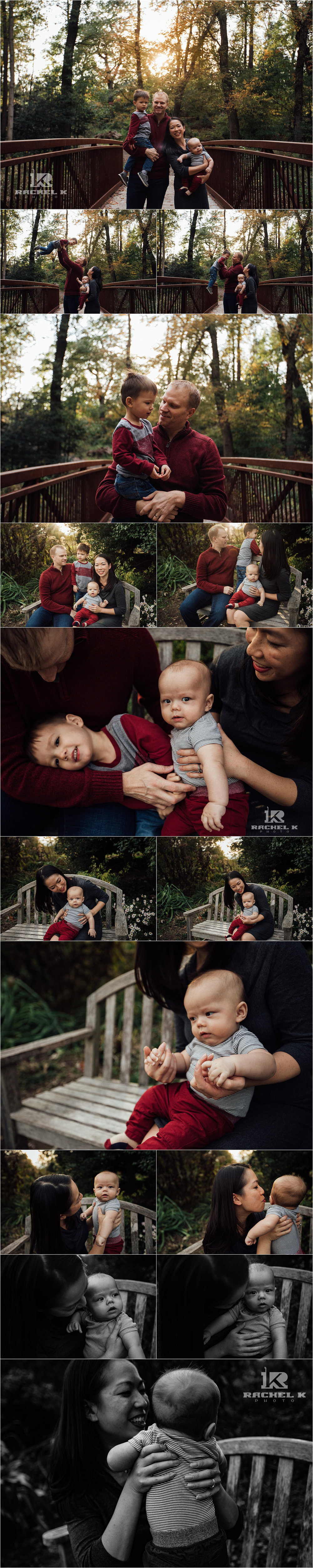 Fairfax Virginia lifestyle family session at Green Springs Gardens by Rachel K Photo