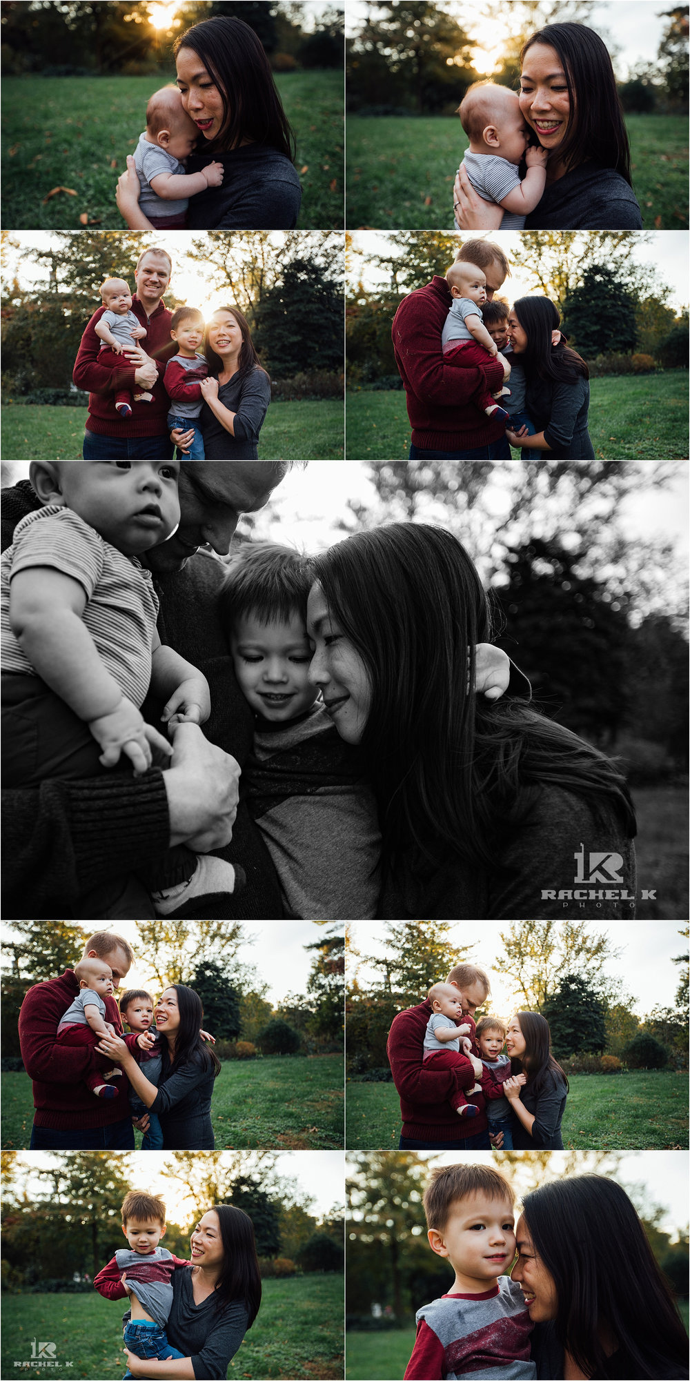 NOVA lifestyle family session at Green Springs Gardens by Rachel K Photo
