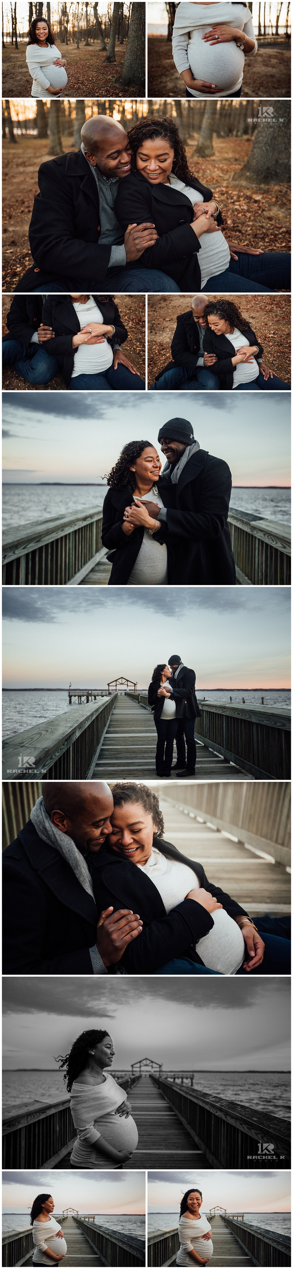 Lifestyle maternity session with emotion by Fairfax photographer Rachel K Photo