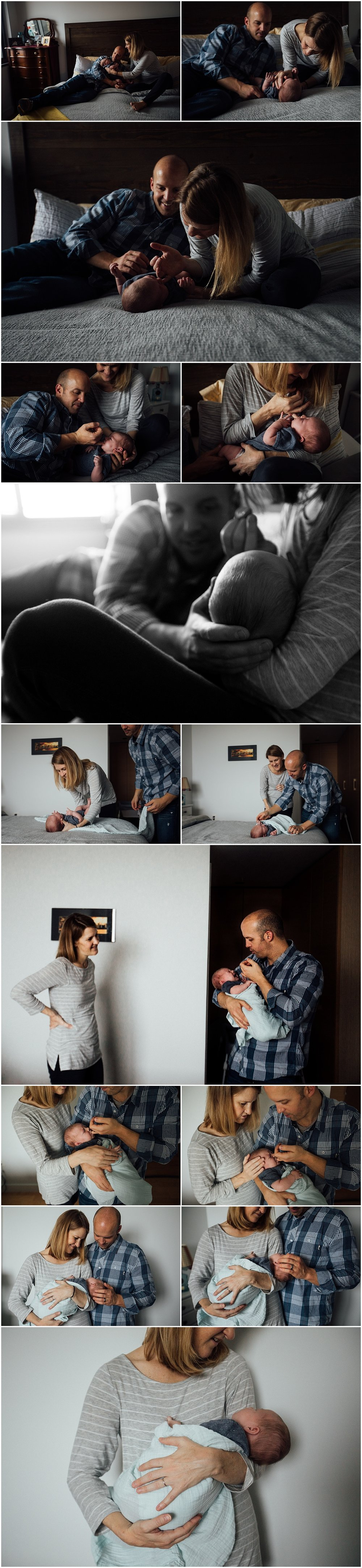 Fairfax emotive newborn lifestyle session by Rachel K Photo