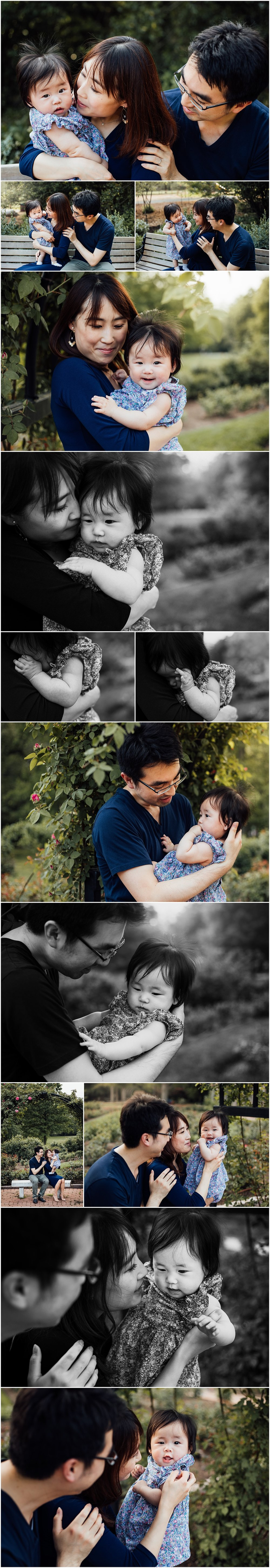 Spring family session with 4 month old by Centreville VA Photographer Rachel K Photo