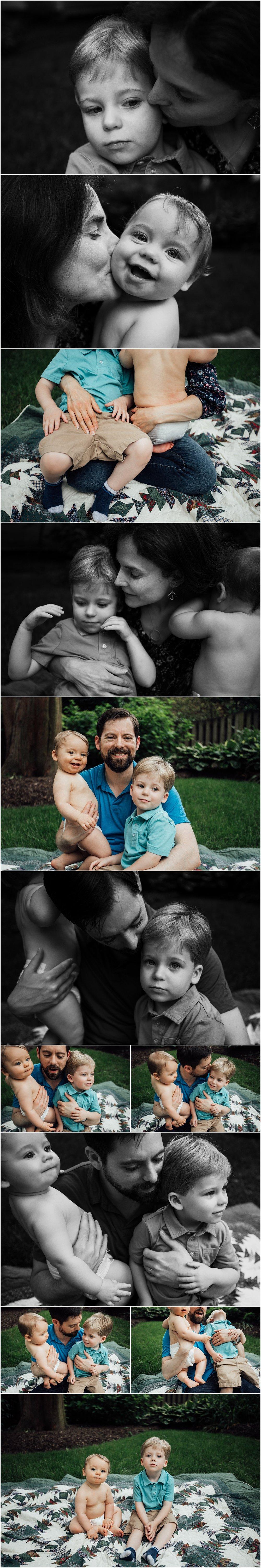emotive family session by Huntsville Alabama family photographer Rachel K Photo
