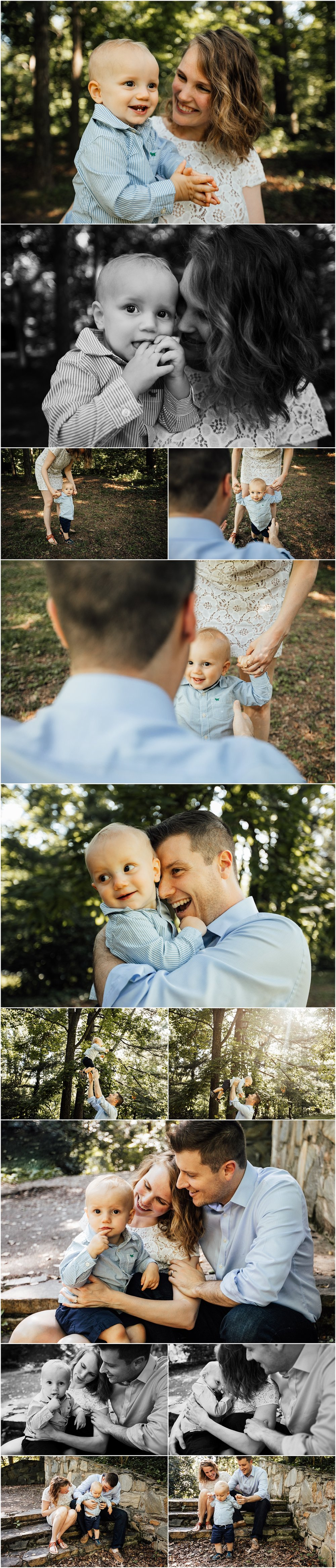 Family session by Madison Alabama family photographer Rachel K Photo