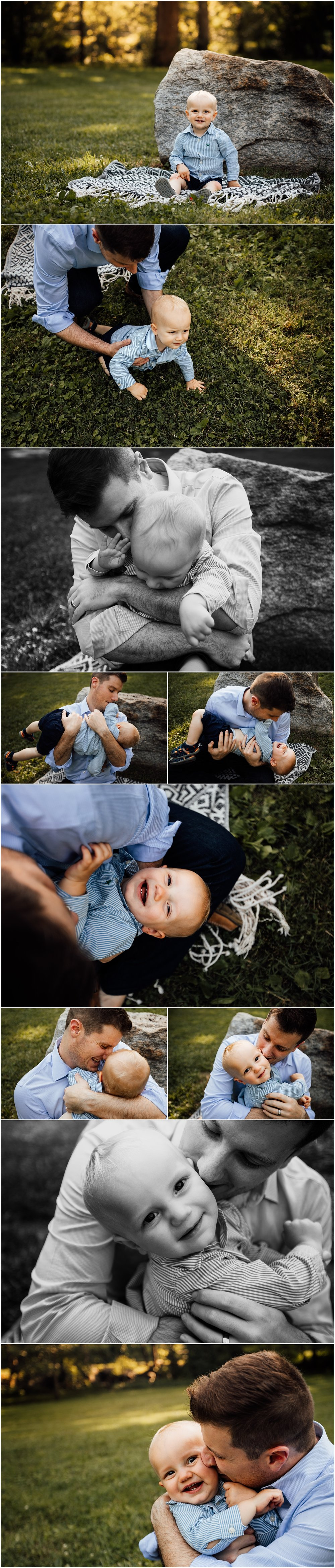 One year old session by Madison Alabama family photographer Rachel K Photo