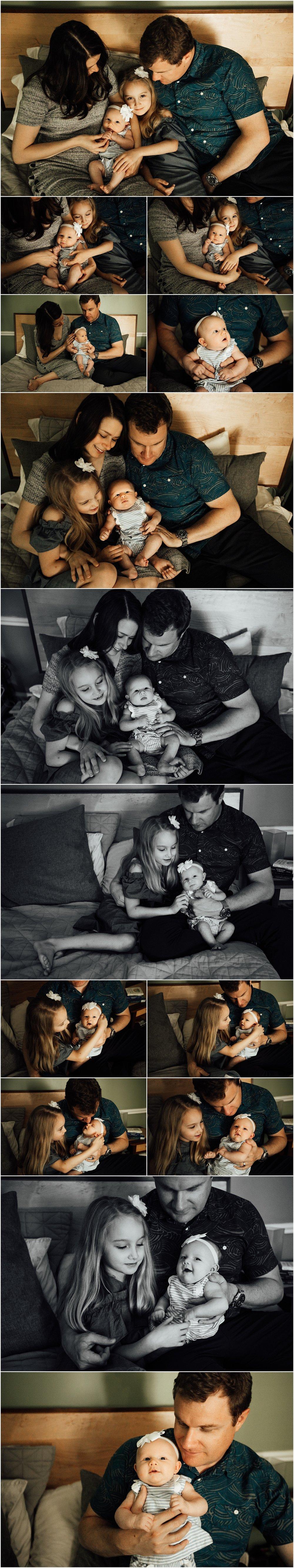 Madison and Huntsville Alabama newborn lifestyle session by Rachel K Photo