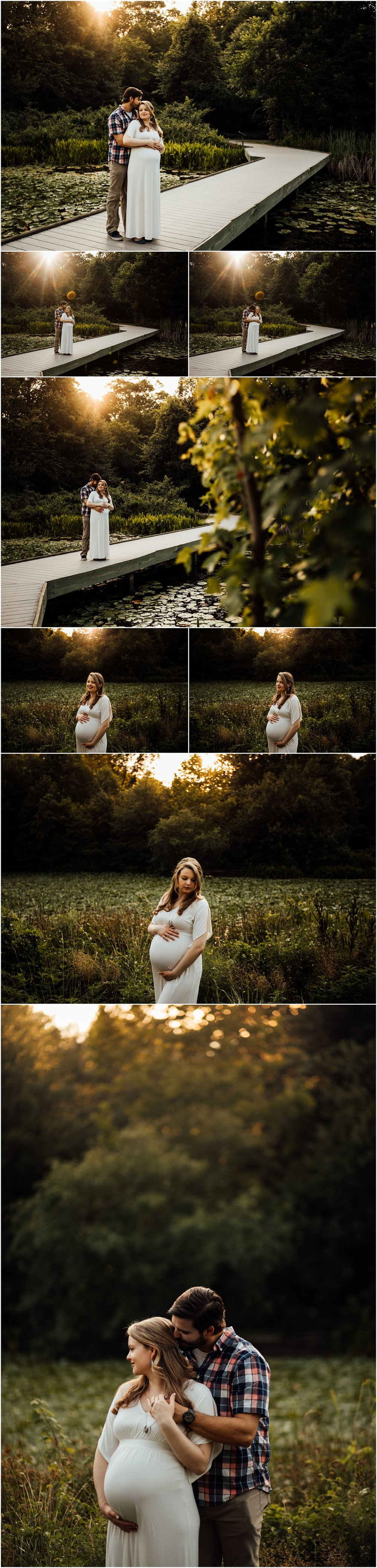 Huntsville and Madison Alabama maternity golden hour photo shoot