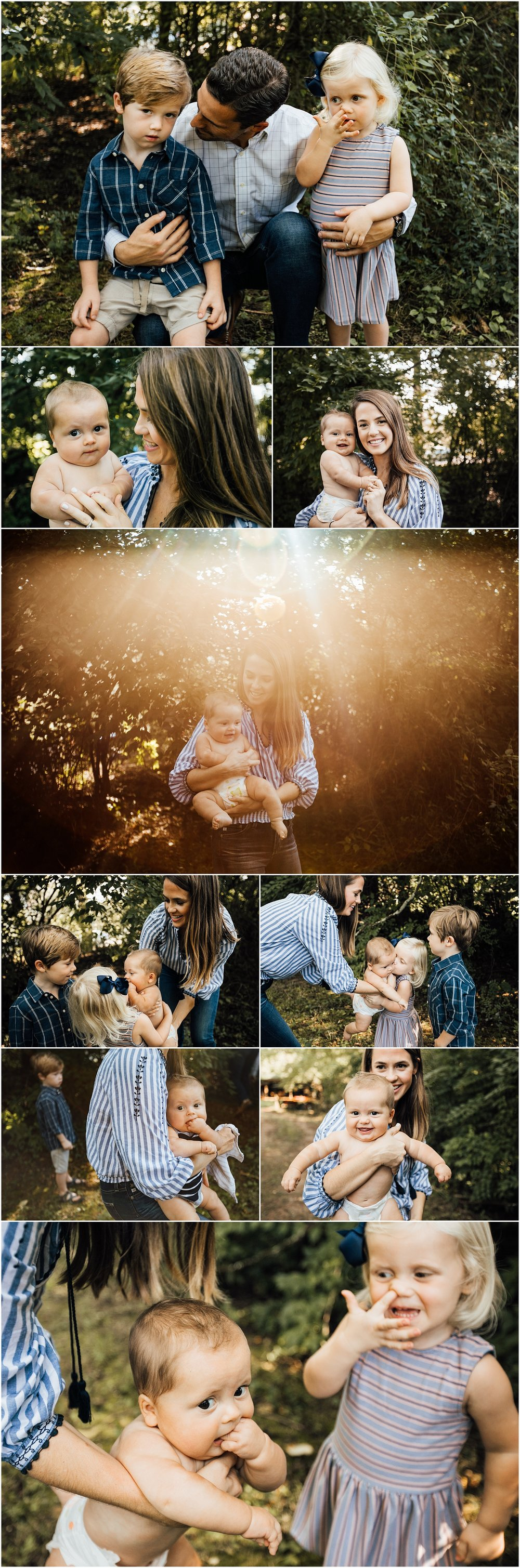 Madison Alabama family of 5 outdoor fall session by Rachel K Photo