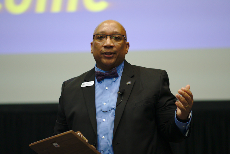 Robert Q. Berry III at the 2018 NCTM Annual Meeting