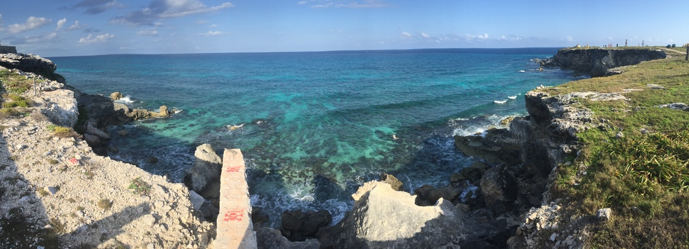 The North Point at Isla Mujeres, off the coast of the Riviera Maya. Foto by Allie Jordan <3