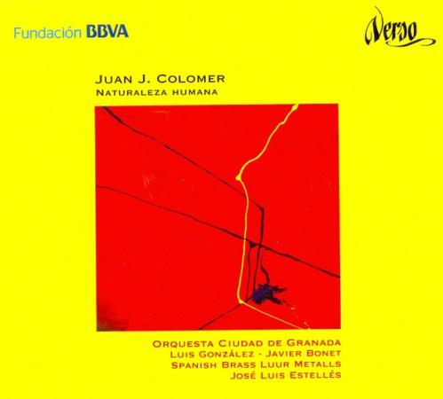 """Recorded by"""" Luis González & Orquesta Ciudad de Granada. Conductor: J. Luis Estellés. Fundación BBVA-Verso"""