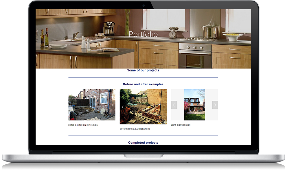 Website Design Services Bath Building Renovation 1
