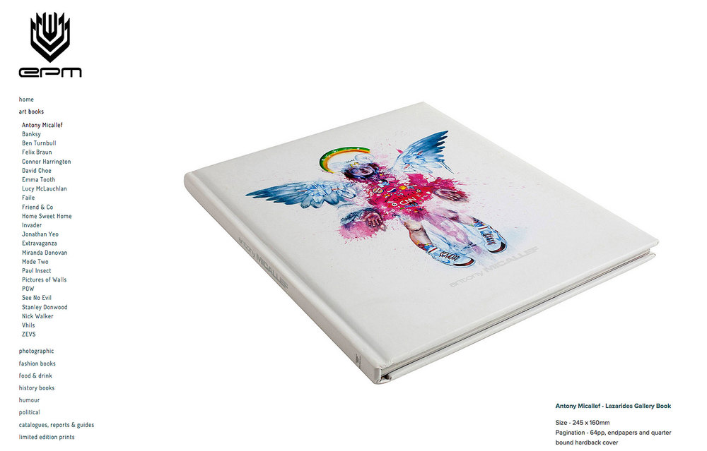 book by anthony micallef with pink angle on the cover