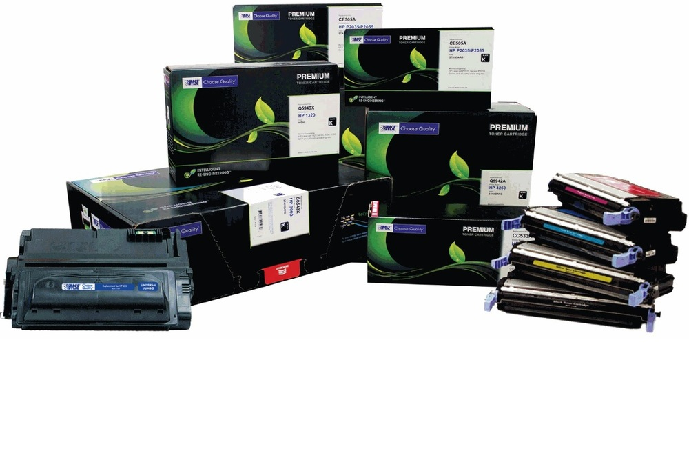 toner cartridges, drums, finishing staples and more