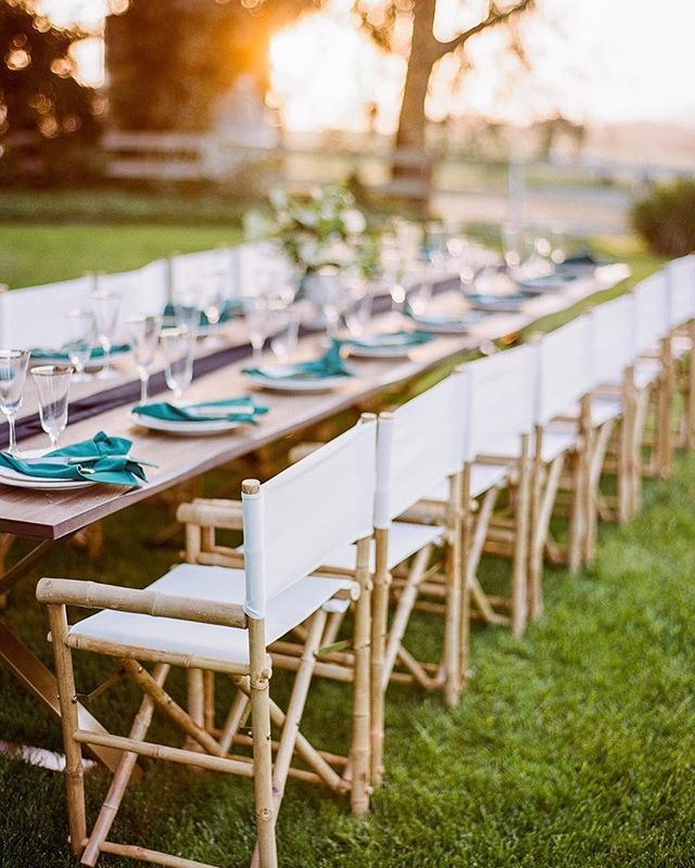 Loving this shot of our tables and chairs by @kristynvillars! She was one of the first photographers we ever collaborated with and she brings so much talent to our community!  #Repost @kristynvillars ・・・ Linden Clover | Flying Caballos Wedding | San Luis Obispo . . venue // @flyingcaballosranch workshop // @lindenclover  cinematography // @storiestoldbyfilm  design + planning // @sparkandsparkleevents rentals // @avenuetwelve @allaboutevents linens // @blushfinelinen  florals // @adornments_flowers food // @floraandfaunafinefood + @fusanoolives drinks // @copperandcrystal @spearheadcoffee @allegrettowines sweets // @negranticreamery @slodoco calligraphy // @feteandquill  printing // @bourbonbluecards  bridal gown // @moondancebridal bridal jewelry // @sweetbellajewelry groom's attire // @heygorgeousformalwear @staghandmade  h+mu // @dani.cepeda.hair @candancemillermakeup model //@brianna_biberston film scans // @richardphotolab