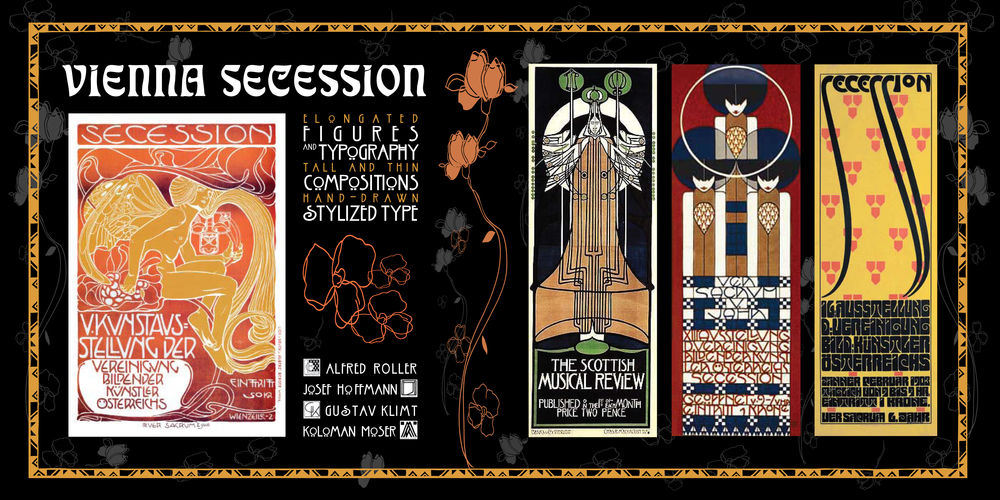 Posters for Vienna Secession