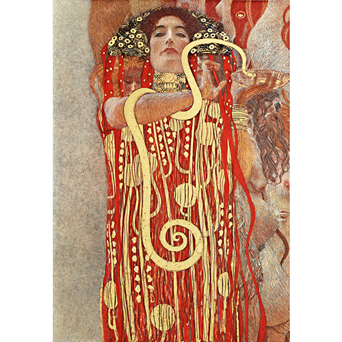 Hygeria  , 1990, by Gustav Klimt, one of the most prominent members of Vienna Secession