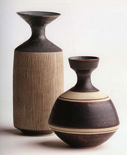 Lucie Rie vases