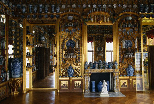 The Porcelain Room at Charlottenburg Palace, Berlin