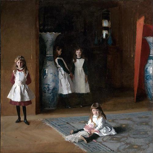 The Daughters of Edward Darley Bolt, John Singer Sargent, 1882