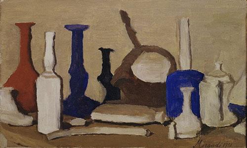 Still Life , Giorgio Morandi, 1938