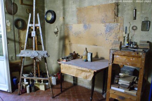 Morandi's studio in Bologna