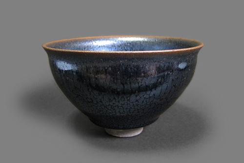 Tenmoku Tea Bowl, 2012,Unokawa Kazumasa