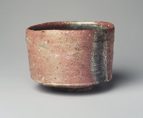 Shigaraki Tea Bowl, 1999,Tsujimura Shiro
