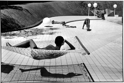 Swimming Pool designed by Alain Capeilleres, La Brusc, Var, France, 1976, Martine Franck