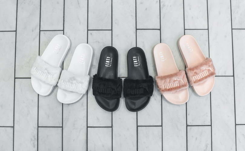 Puma 'Fur Slide by Fenty'