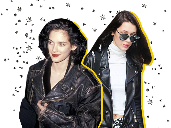 Leather jackets aren't going anywhere. They were the staple of the grunge movement in the 80s and 90s and today they give women the extra edge they need to complete their look.
