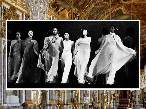 Paris Fashion Week 1973 at The Palace of Versailles