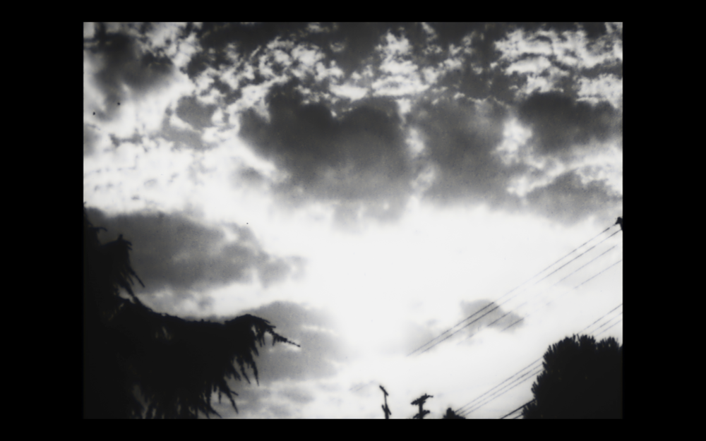 Still from: At Santa Monica 3, 1975, 15:30 min, 16mm transferred to video