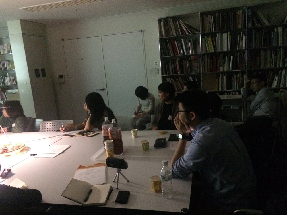 Workshop at Mori Art Museum