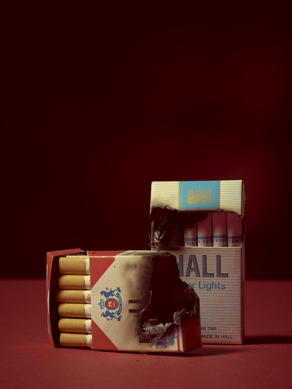 A collaboration with  Ryan Louis . As a Chinese tradition, objects made of paper are burned as offerings for those who have passed on. These items were dedicated to Ryan's Grandpa.