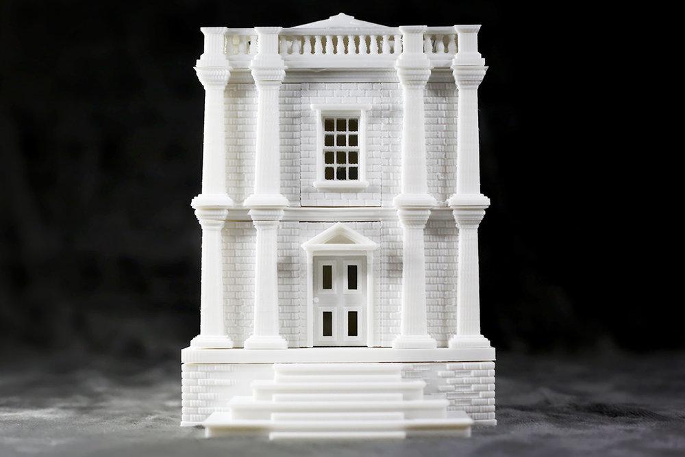 빅토리아 타운 하우스  개별 프린팅하여 조립