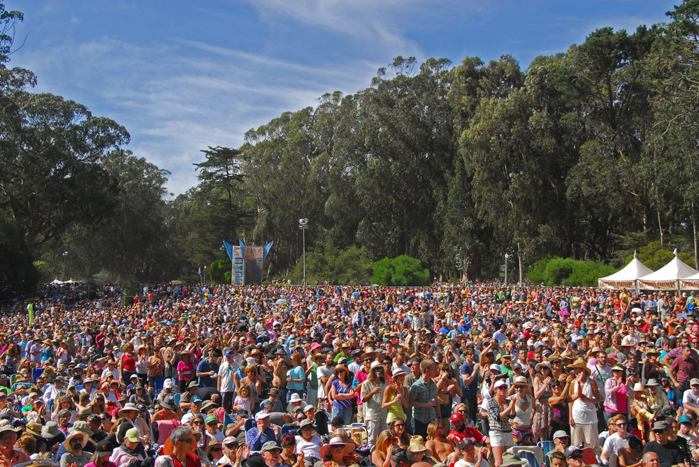 Arrow Meadow at Hardly Strictly Bluegrass