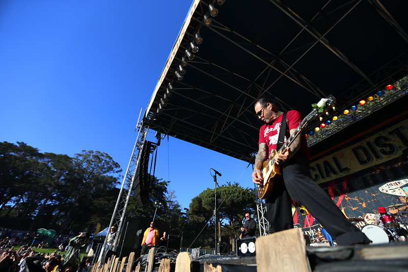 Social Distortion at Hardly Strictly Bluegrass